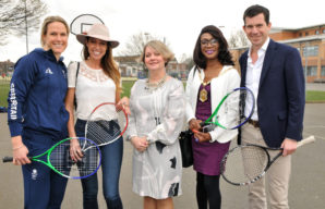 Raynes Park High School becomes first state school to be an accredited Tim Henman Foundation/BECSLink Community