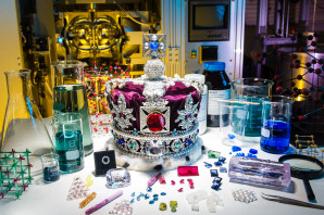 Scientists grow the Crown Jewels!