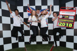 "Gateshead student team crowned UK ""F1 in Schools"" 2018 champions"