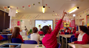 Clevertouch in classroom