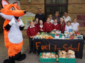 Students at Leeds Beckett team up with Fuel for School to cut out food waste in Leeds