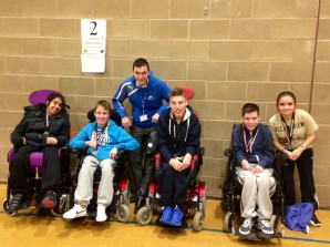 GB Paralympic gold medallist presents awards to students