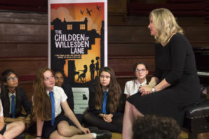 8,500 London school children learn first-hand about the Kindertransport as part of the Holocaust Educational Trust's Stories from Willesden Lane project