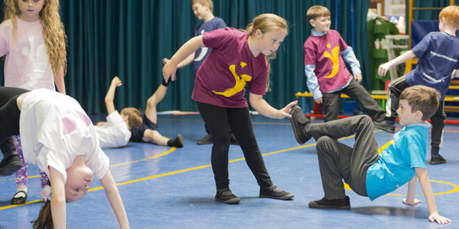 National dance company raising attainment in primary schools one dance step at a time