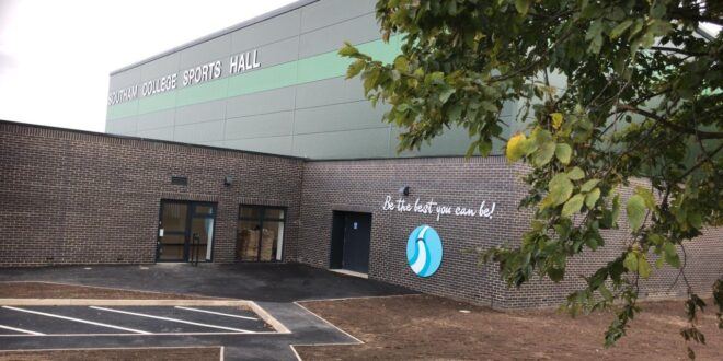 Darwin Group delivers brand-new sports hall for Southam College