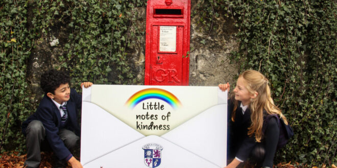 Pupils encourage kindness in the community