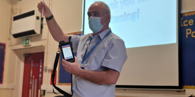 Teacher training with a twist: How the NHS Deep Cleaning and Advisory Service is protecting staff and students during lockdown