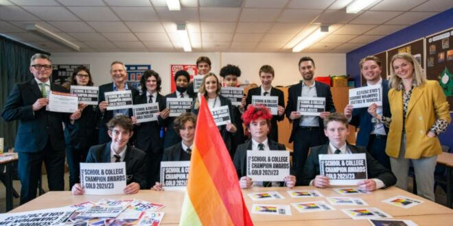 Forest Hill School becomes only school in London to win prestigious LGBTQ+ award