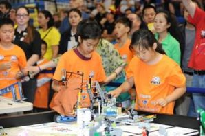 Cambridgeshire students are invited to go Into Orbit during The IET FIRST® LEGO® League Cambridge tournament